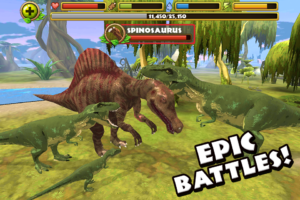 Jurassic Life T Rex Simulator android game