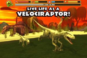 Jurassic Life Velociraptor android game