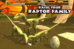 Jurassic Life Velociraptor android apk free download