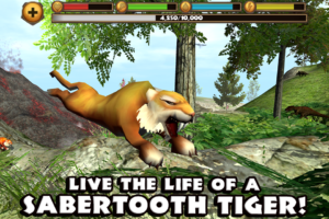 Sabertooth Tiger Simulator android apk game