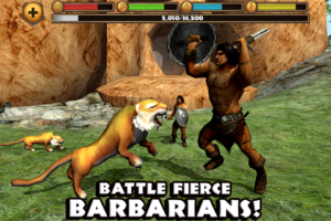 download Sabertooth Tiger Simulator android apk game free