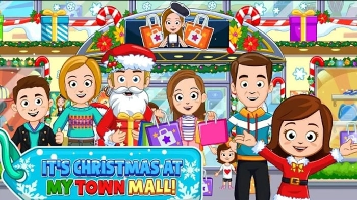 my town shopping mall android