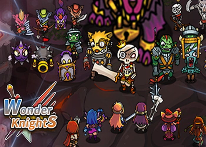 Wonder Knights VIP Retro Shooter RPG download apk