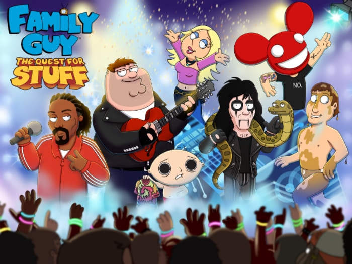 Family Guy The Quest for Stuff - knights and dragons modded apk